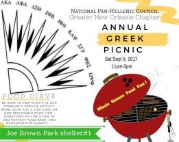 NPHC picnic 9.9.17